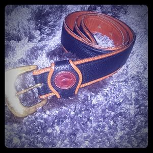 ❤Authentic Dooney & Bourke Leather Belt